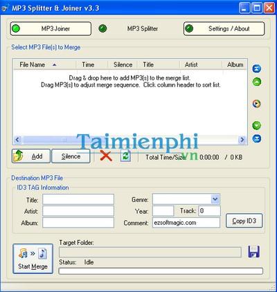 download mp3 splitter joiner