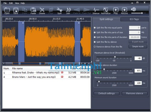 download x wave mp3 cutter joiner