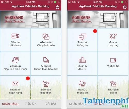 agribank e mobile banking