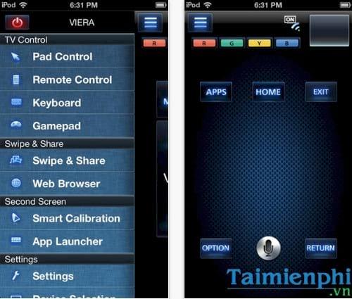 Download Panasonic TV Remote 2 cho iPhone - Ứng dụng điều khiển Tivi t