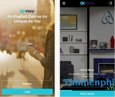 learn english voxy