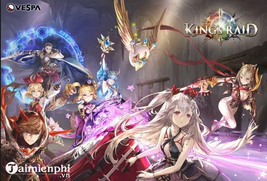 king s raid