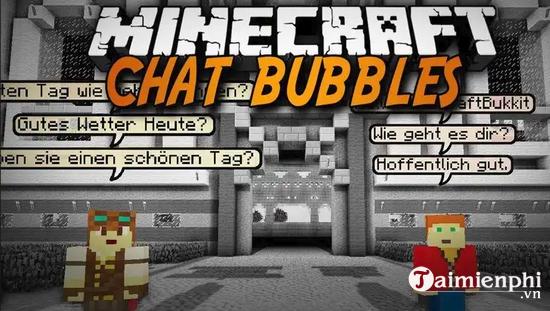 chat bubbles mod