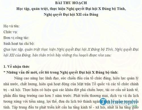 bai thu hoach chinh tri he nam 2016