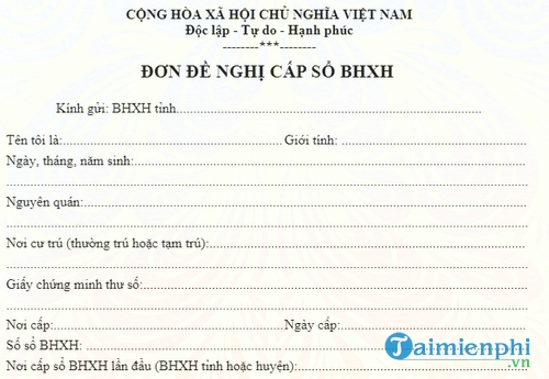 don de nghi cap so bhxh