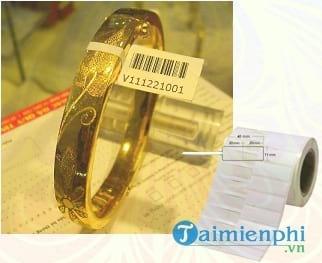 phan mem in tem vang trang suc fudaco gold label