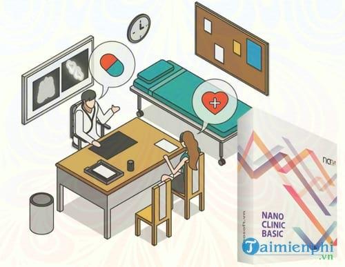 phan mem quan ly phong kham nano clinic basic