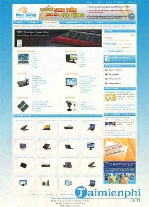 thiet ke web ban hang vcsoft web 02