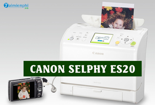 driver canon selphy es20