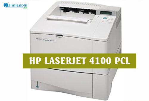 driver hp laserjet 4100 pcl
