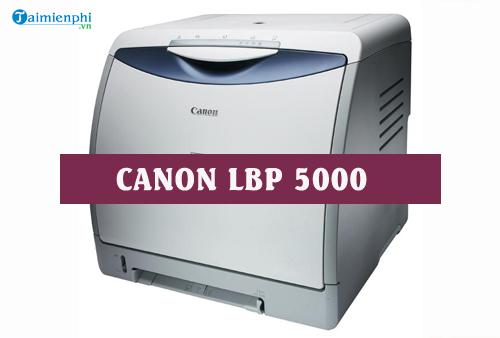 driver canon lbp 5000