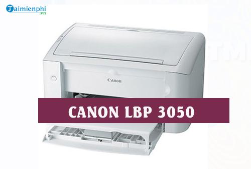 driver canon lbp 3050 cho linux