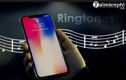 nhac chuong iphone x