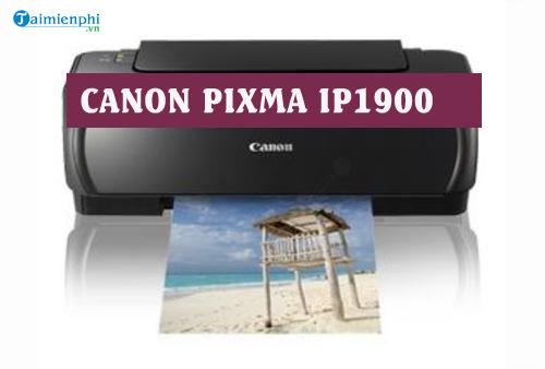 driver canon pixma ip1900 for mac