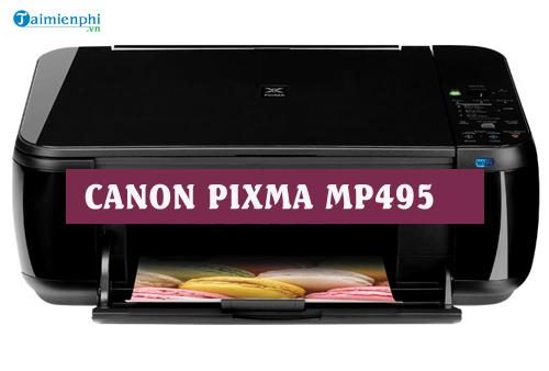 driver canon pixma mp495 for mac