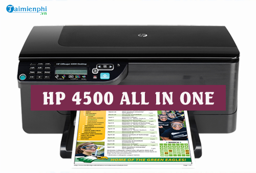 driver hp 4500 all in one