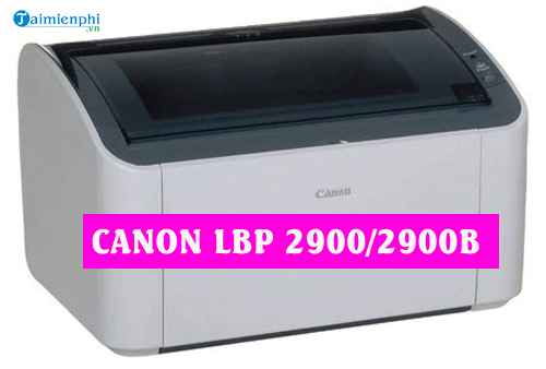 Driver For Mac Canon Lbp 2900