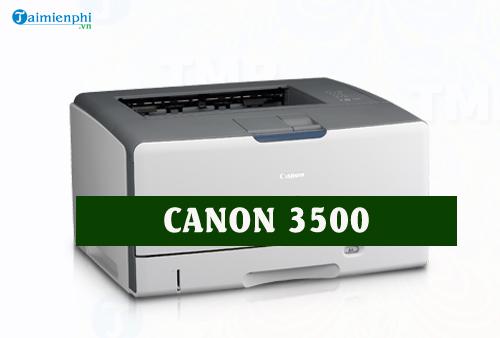 driver canon 3500