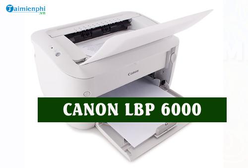 driver canon lbp 6000