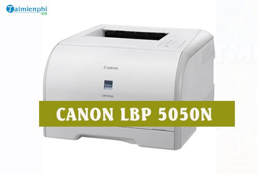 driver canon lbp 5050n cho linux