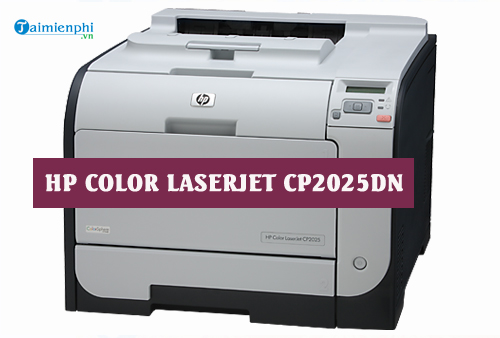 driver hp color laserjet cp2025dn for mac