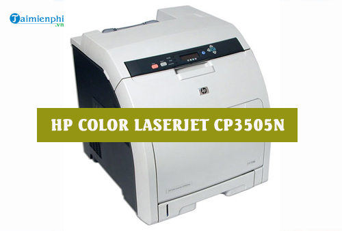 driver hp color laserjet cp3505n for mac