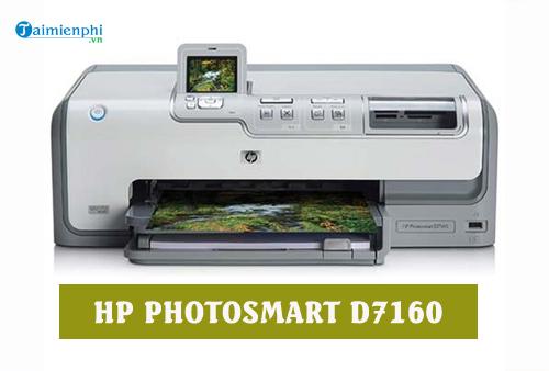 driver hp photosmart d7160 for mac