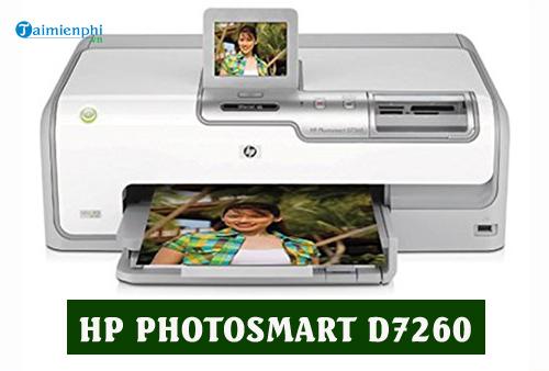 driver hp photosmart d7260 for mac