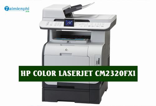 driver hp color laserjet cm2320fxi for mac