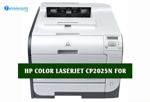 driver hp color laserjet cp2025n for mac
