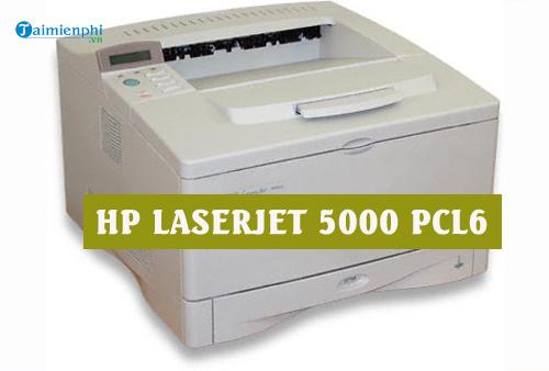 driver hp laserjet 5000 pcl6