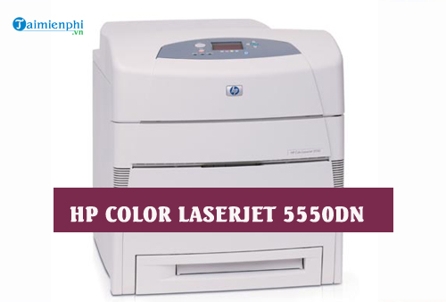 driver hp color laserjet 5550dn for mac