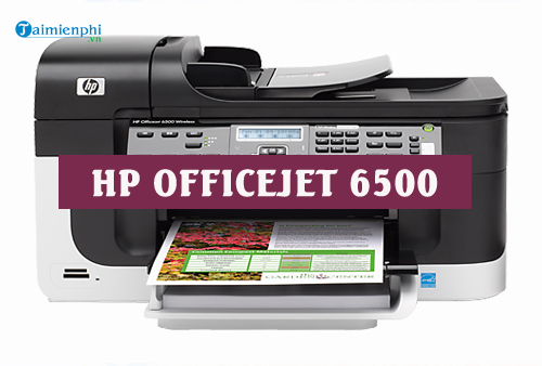 driver hp officejet 6500 for mac