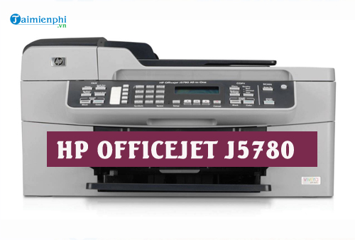 driver hp officejet j5780 for mac
