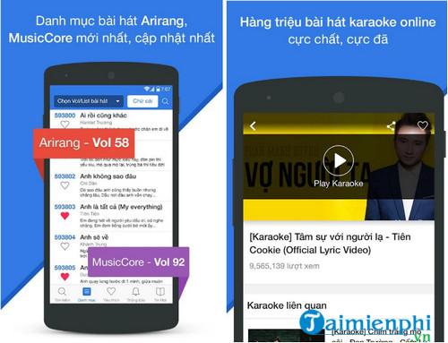 karaoke vietnam cho android