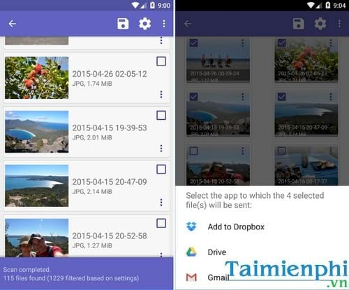 Download DiskDigger photo recovery cho Android - Khôi phục