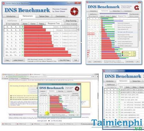 domain name speed benchmark