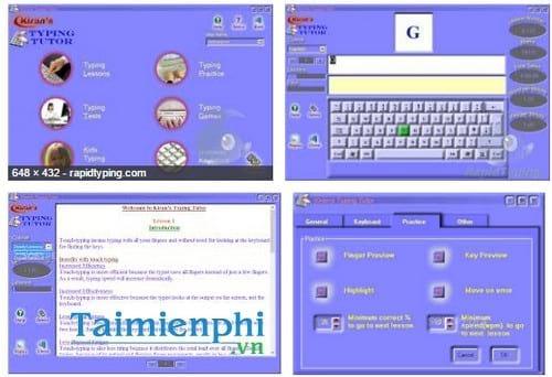 kiran s typing tutor