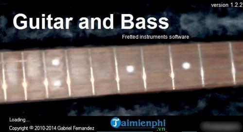 gioi thieu phan mem choi nhac guitar and bass