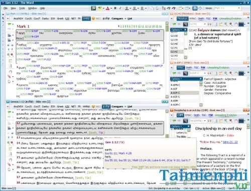 the word bible software