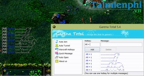 garena quick chat