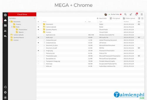 mega for chrome