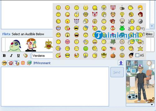 hidden emoticons for yahoo messenger 6