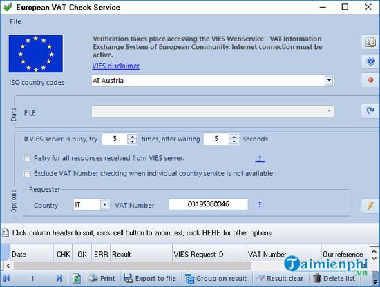 european vat check service