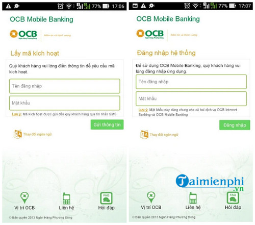 ocb mobile banking