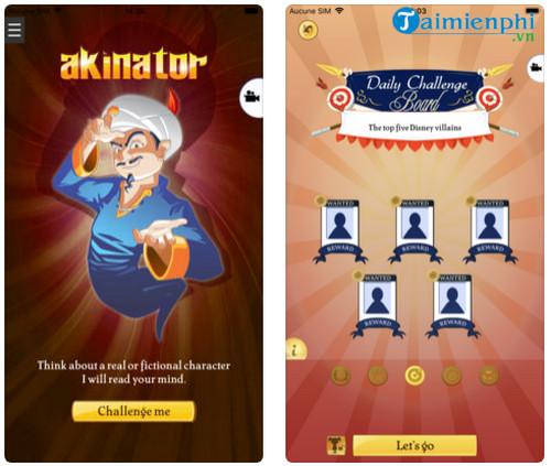 Download Akinator - Game thần đèn đoán suy nghĩ