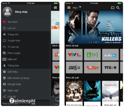 mytv net cho android