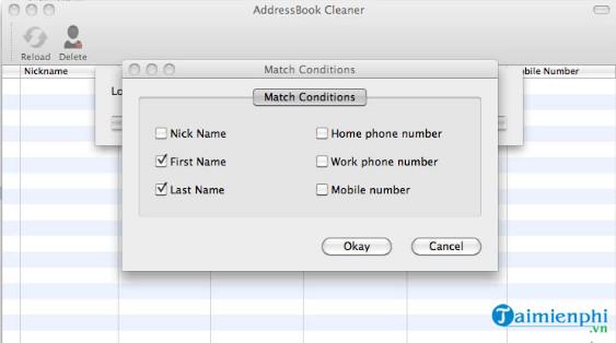 addressbook cleaner