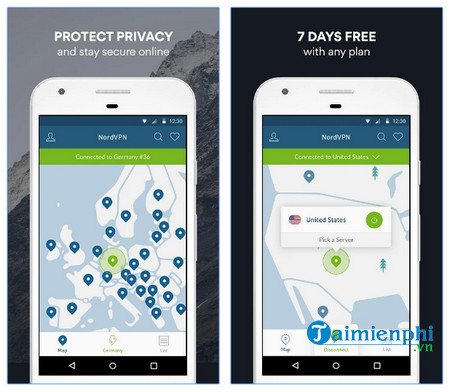 nordvpn cho android