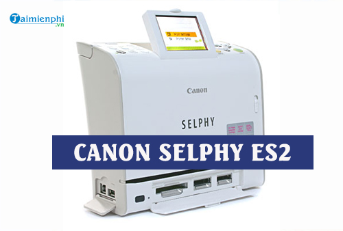 driver canon selphy es2